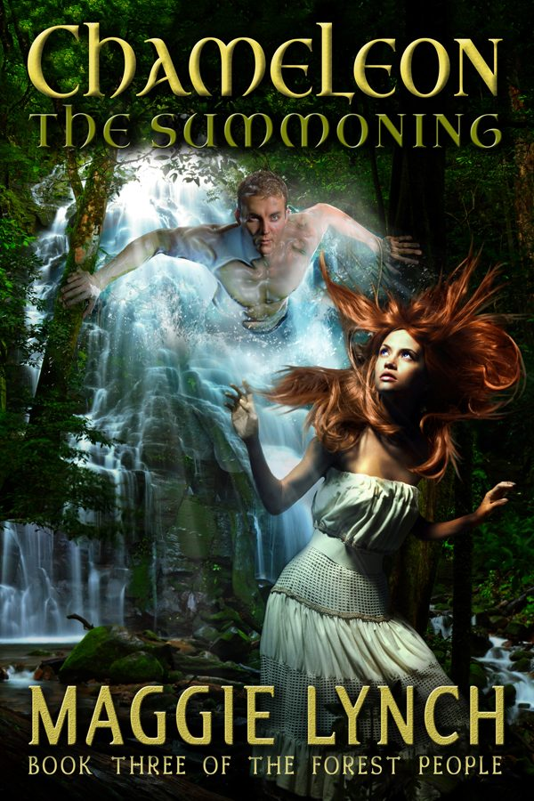 Book Cover Chameleon: The Summoning by Maggie Lynch