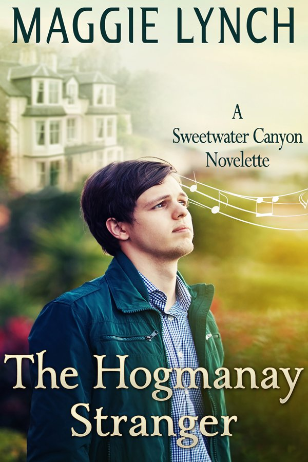 Cover for The Hogmanay Stranger by Maggie Lynch