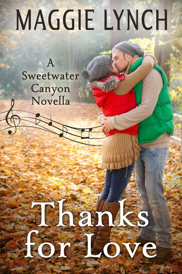 Cover Thanks for Love by Maggie Lynch