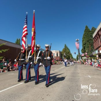 Hillsboro downtown 4th of July parade opening