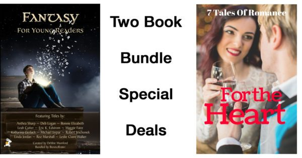 Two Book Bundles-Fantasy for Young Readers and For The Heart 7 Romances