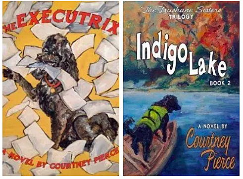 Two books in the Dushane Sisters Trilogy: The Executrix and Indigo Lake