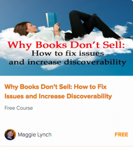 Link to free video course on Why Books Don't Sell