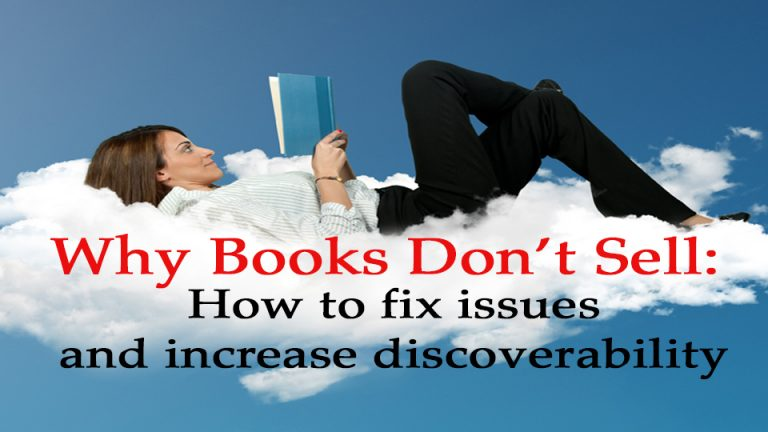 Image for video course. Why Books Don't Sell: How to fix issues and increase discoverability