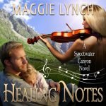Audiobook Cover Healing Notes by Maggie Lynch, narrated by Sonja Field