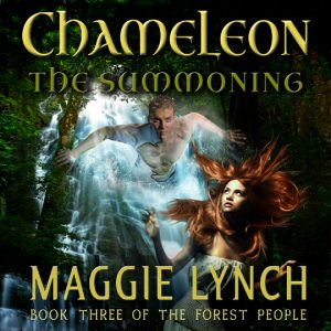 Audiobook - Chameleon: The Summoning, written y Maggie Lynch, narrated by Rachel Jacobs