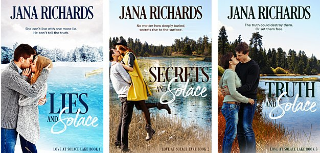 Love at Solace Series of three books by Jana Richards