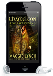 Audiobook Chameleon: The Awakening by Maggie Lynch