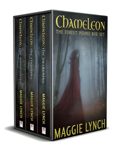 Forest People Trilogy with Chameleon: The Awakening, Chameleon: The Choosing, and Chameleon: The Summoning