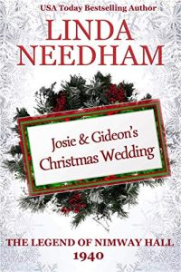 Book cover, Josie & Gideon's Christmas Wedding by Linda Needham