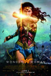 A picture of Wonder Woman in the 2017 film