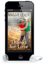 Thanks for love cover inside a phone with earbuds
