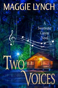Cover for Two Voices by Maggie Lynch