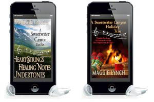 Two boxset audiobooks: First three books in Sweetwater Canyon series and three holiday novellas, A sweetwater canyon holiday trio